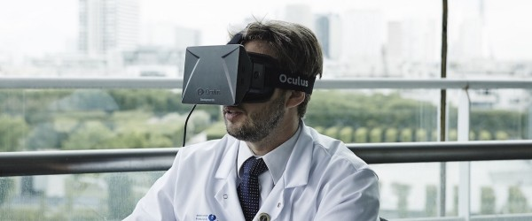Doctor whose surgery was filmed for the Oculus Rift