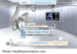 Medical simulation by Philips